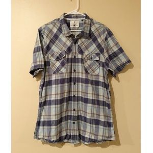 i jeans by Buffalo Short Sleeve Button Down